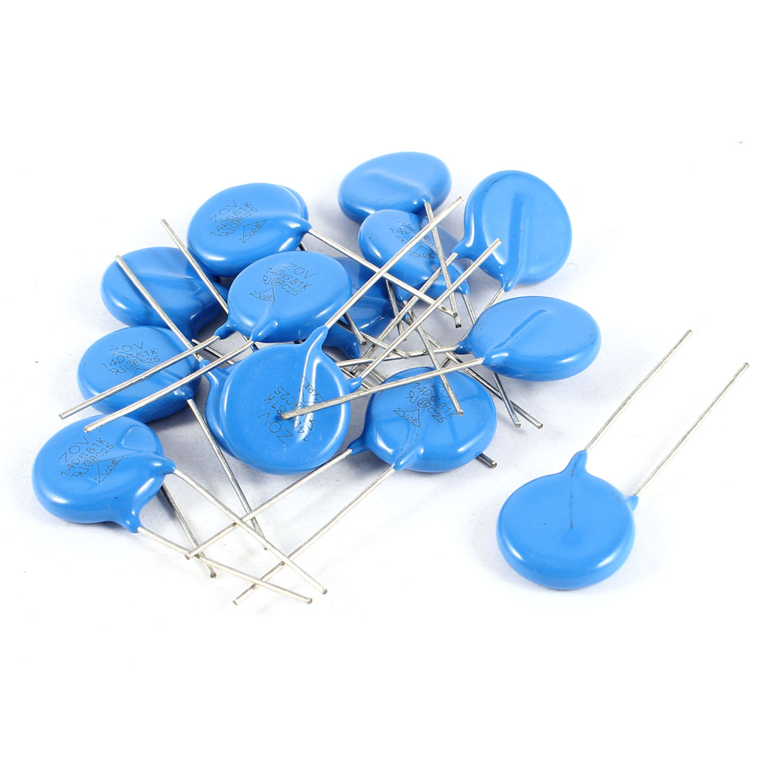 15 Pcs Radial Lead Voltage Dependent Resistor Varistors 680V 14D681K