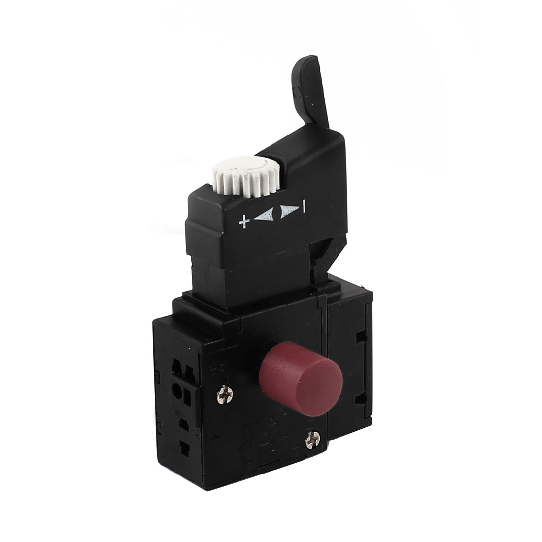 Electric Optional Lock Speed Control Trigger Switch AC 250V 4A 5.4Ohm