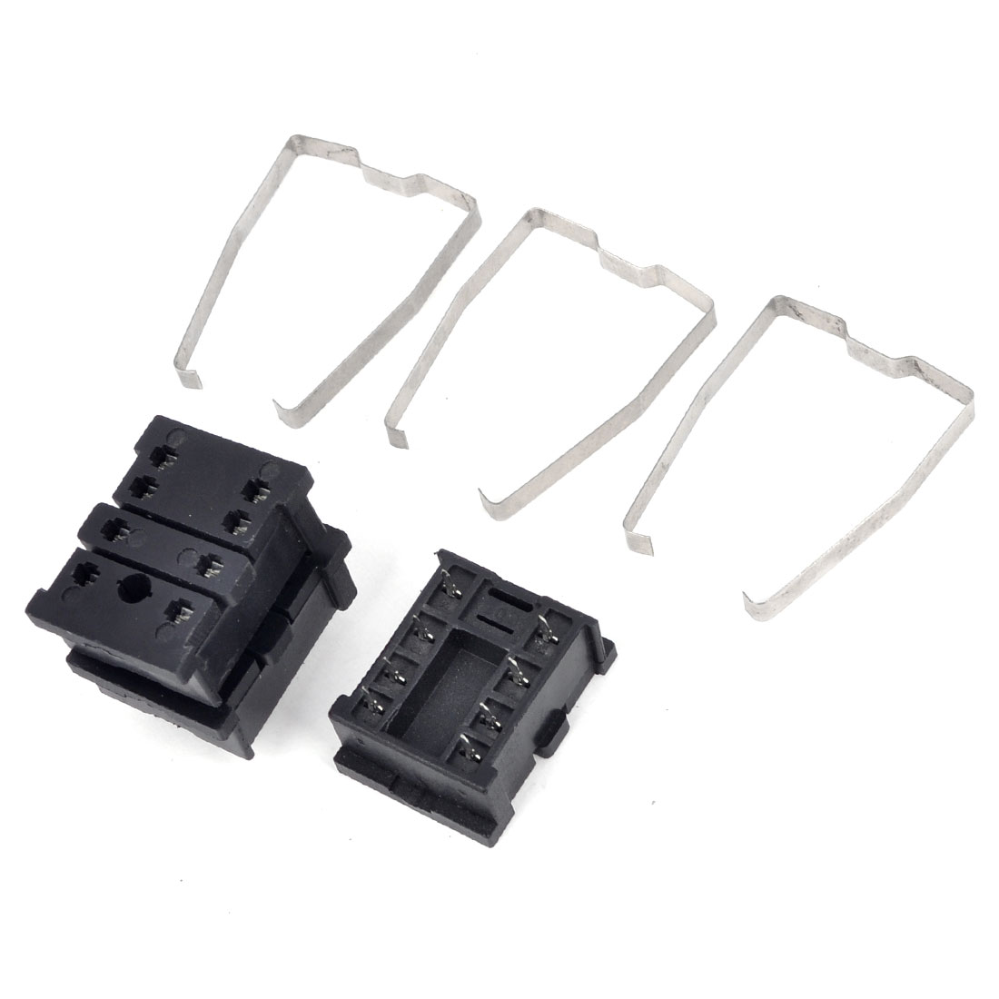 3Pcs PYF08A Plug In 8 Pin PCB Relay Socket Base Holder for HH52P/MY2NJ General Purpose Relay