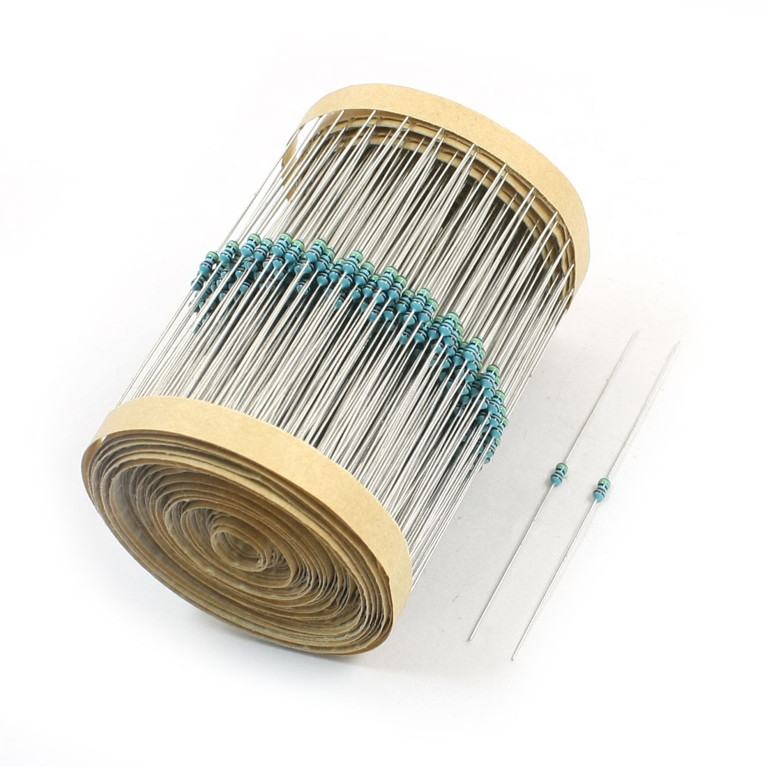 600Pcs 1M Ohm 1/8W 5% Tolerance Axial Lead Through Hole Mounting 4 Color Ring Carbon Film Fixed Resistor