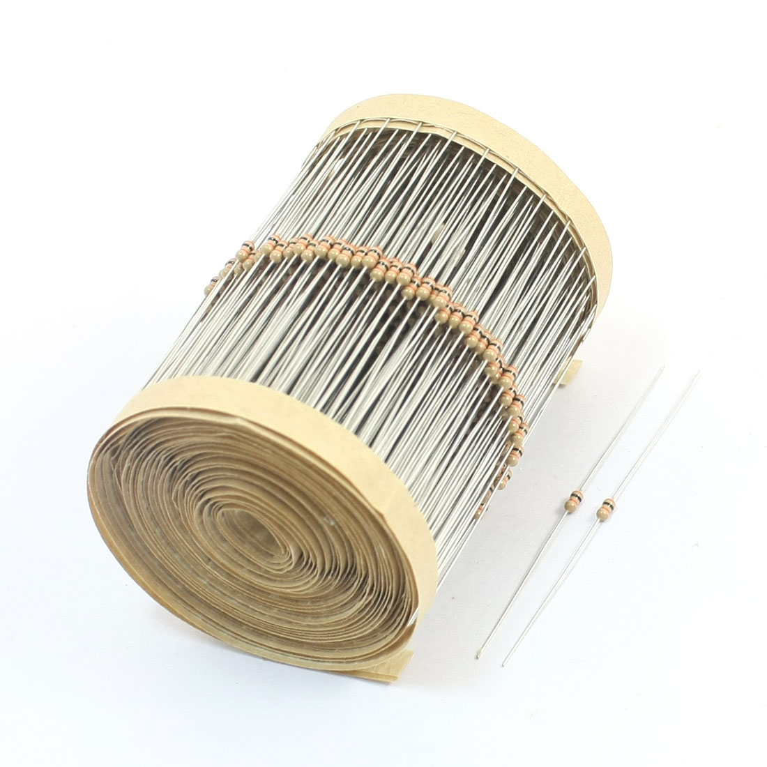600 Pcs 30K Ohm 5% Tolerance 1/8Watt Power Axial Leading Type Through Hole Mounting 4 Color Ring Carbon Film Fixed Resistors