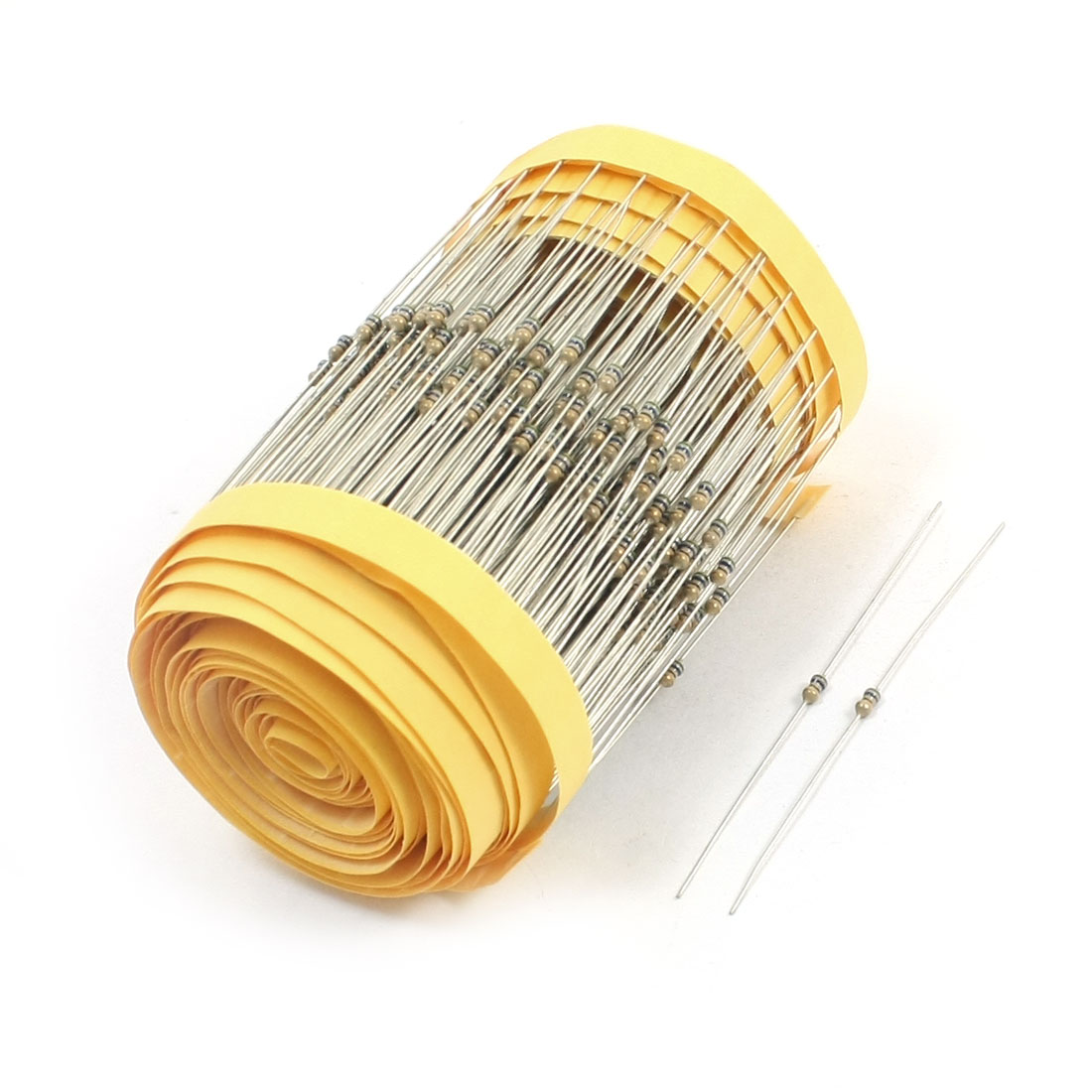 600Pcs 1/8W 56 Ohm 5% Tolerance Axial Lead Type Through Hole Mount 4 Color Ring Carbon Film Fixed Resistors