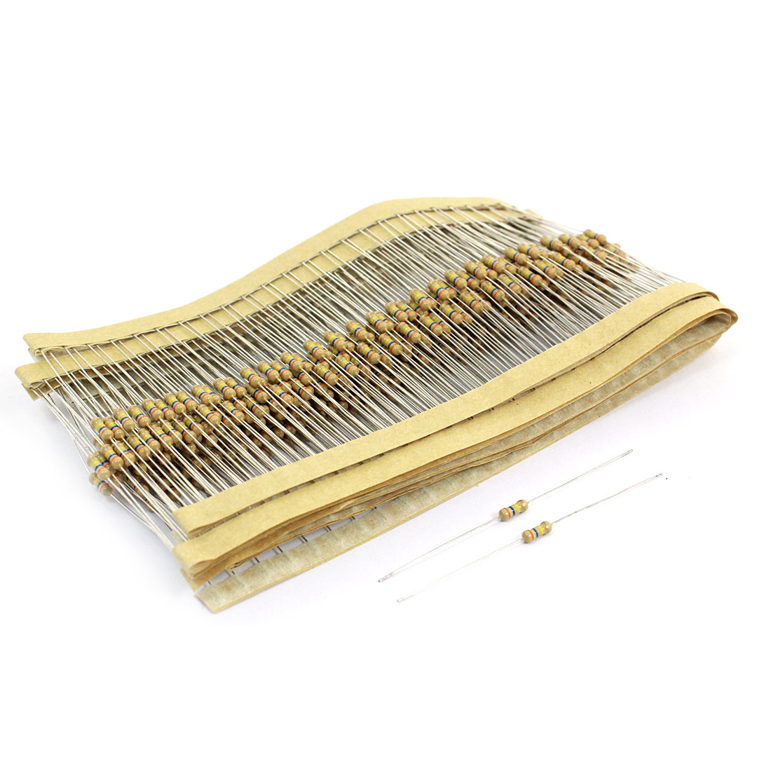 400 Pcs Axial Leads Fixed Carbon Film Resistors 1/4W 0.25 Watt 360K Ohm