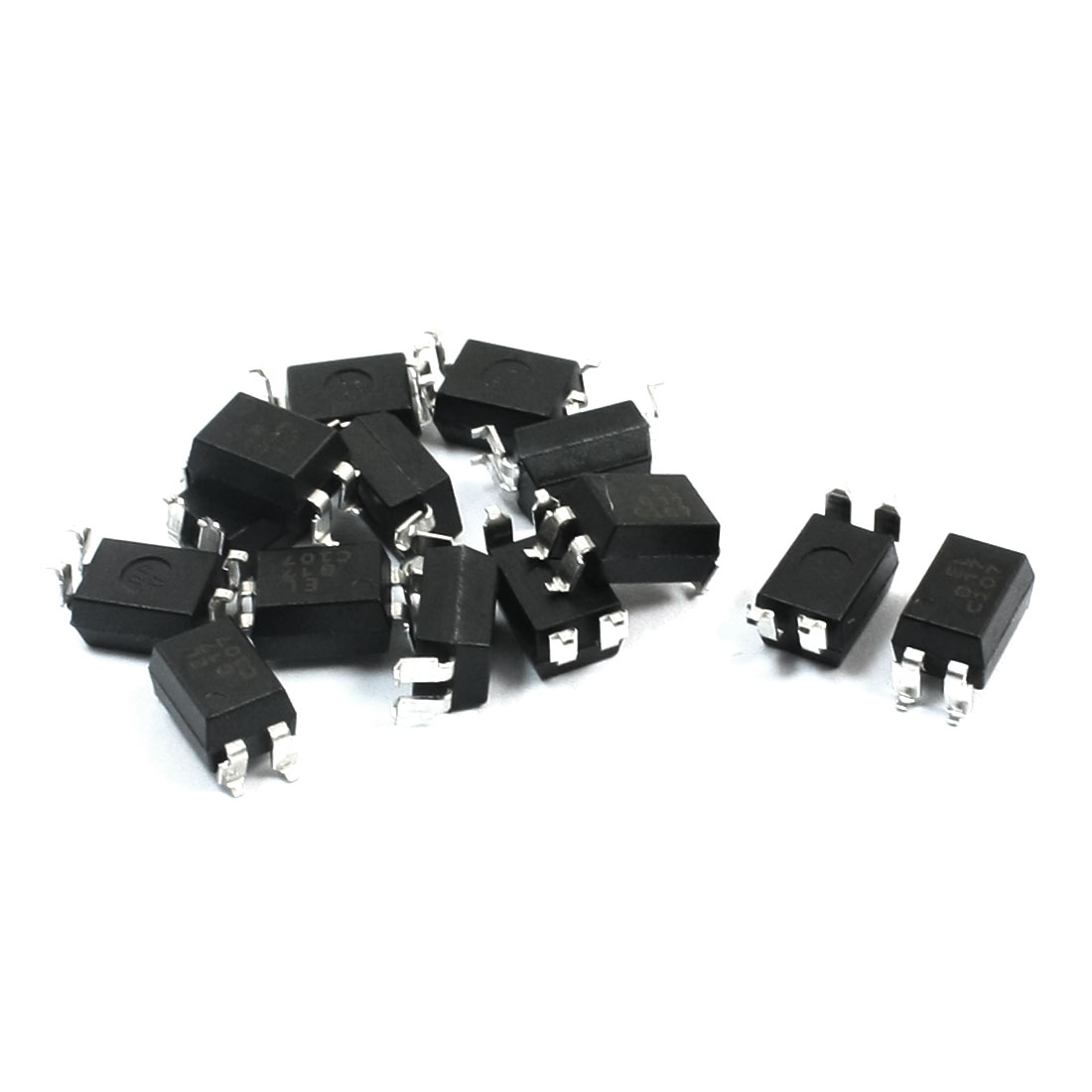 EL817S SOP-4 35V 50mA 200mW PCB Surface Mounting SMD SMT Type Optical Coupler Optocoupler IC Chip 15 Pcs