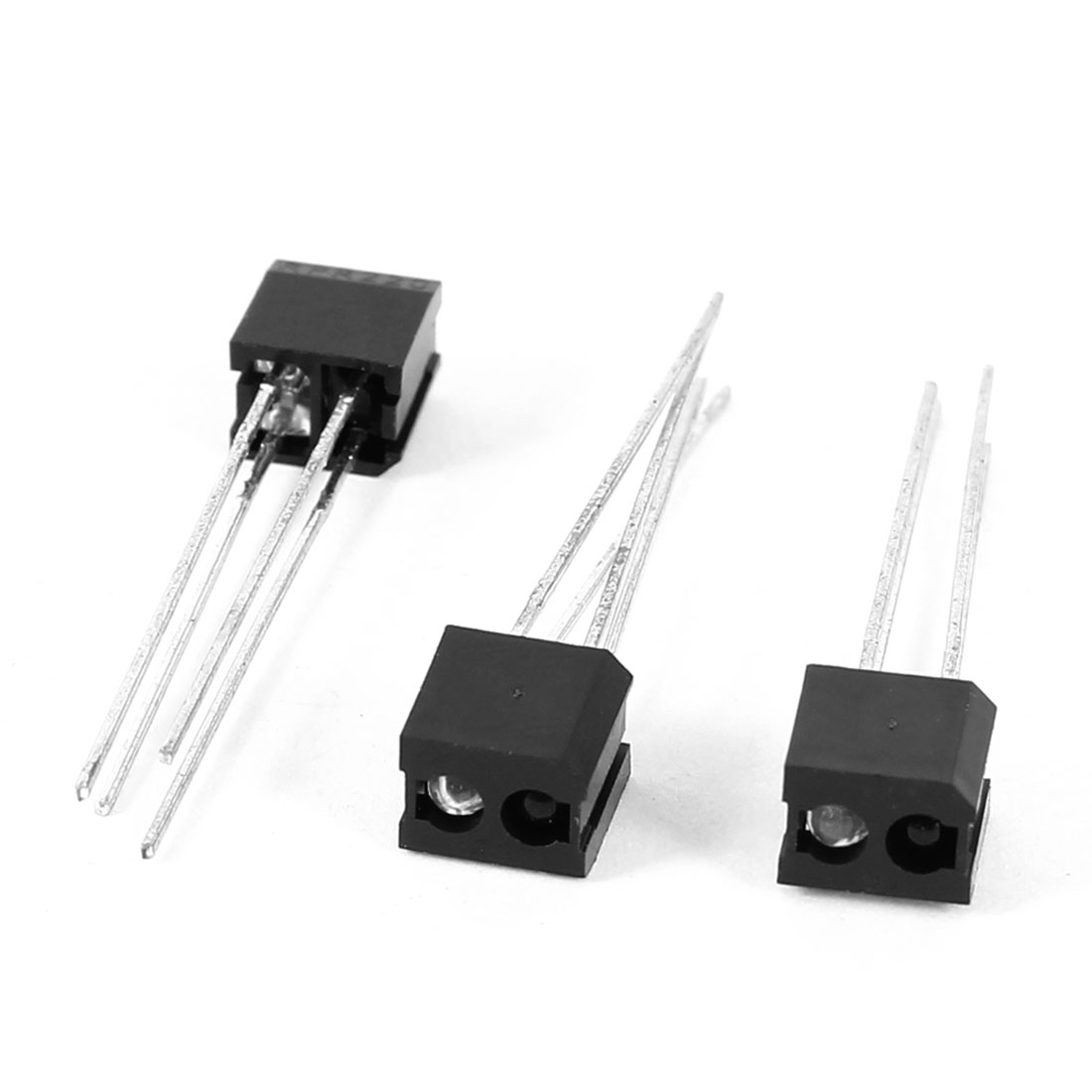 RPR220 30V 30mA 4 Radial Lead Type Through Hole Mounting Transistor Output Reflective Optical Photoelectric Sensor 3Pcs