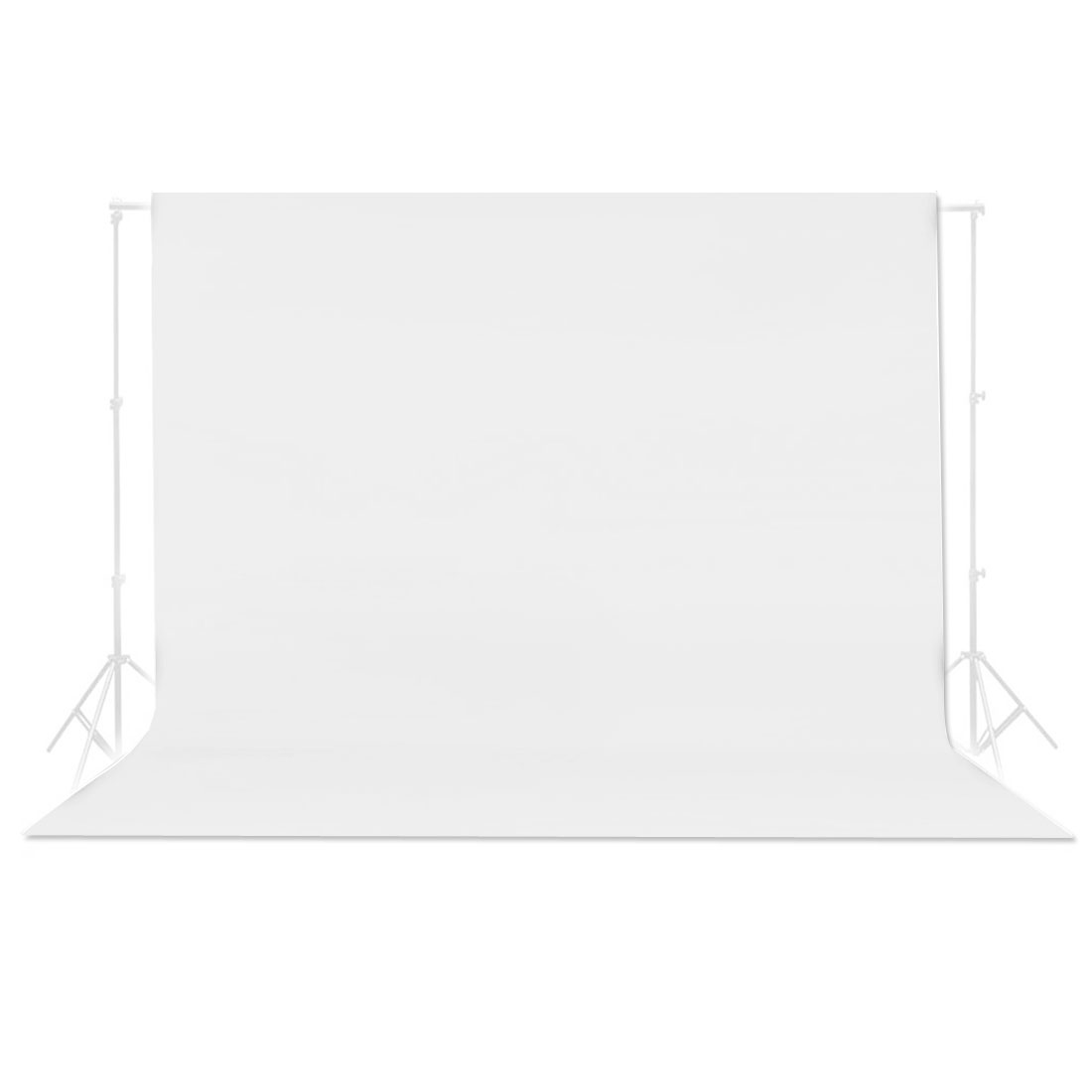 3.3Ftx10Ft White Non-woven Fabric Photography Backdrop Background Cloth