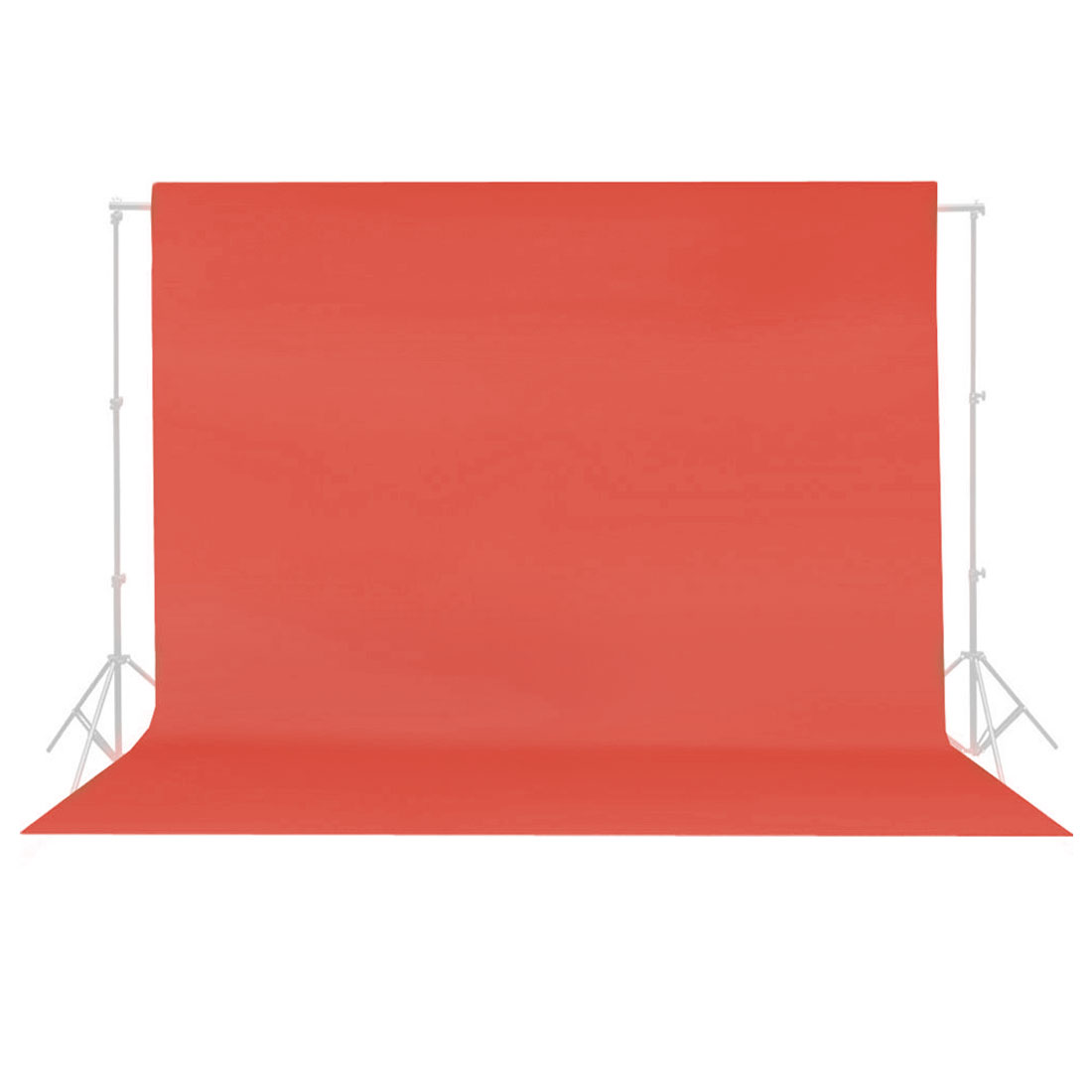 5Ftx10Ft Red Non-woven Fabric Photography Backdrop Background Cloth