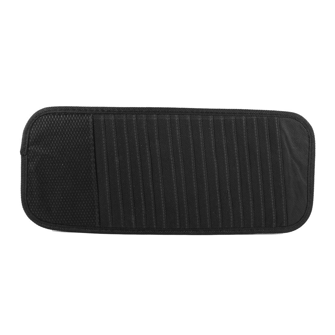 Car Nylon Non Woven Visor 18 Capacity CD Discs Organizer Bag Holder Black
