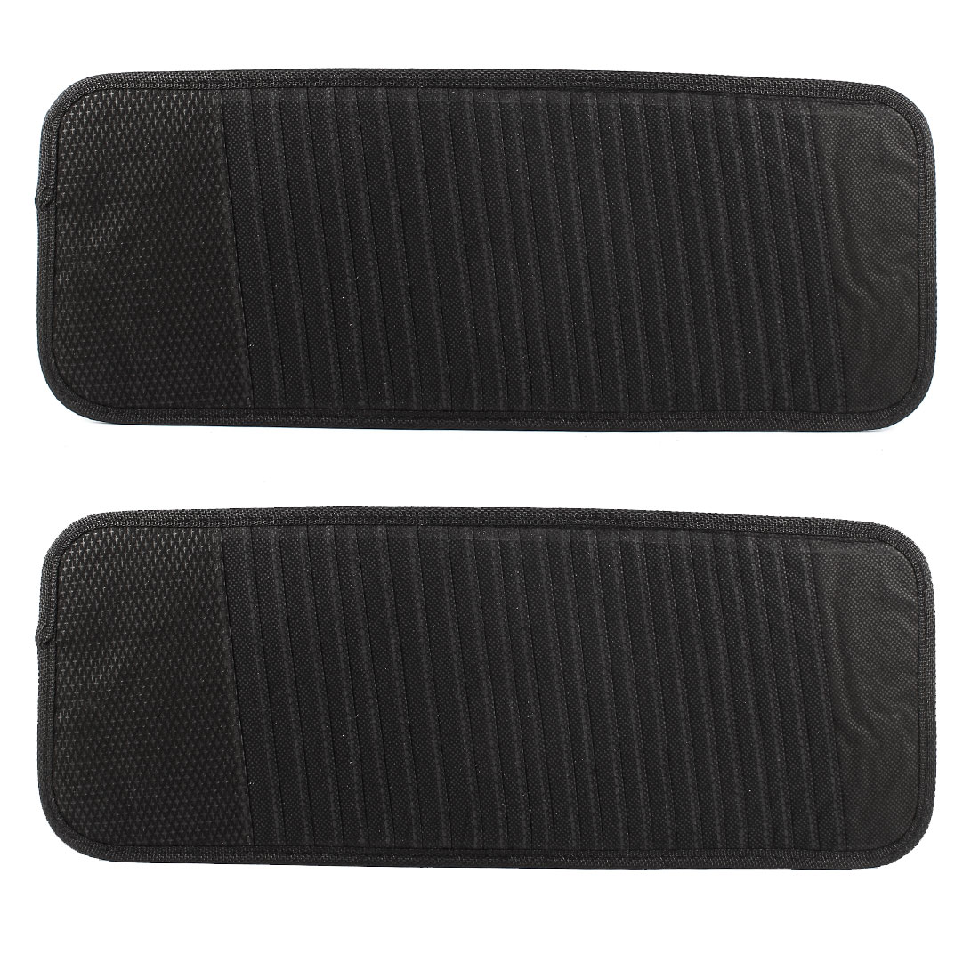 Auto Car Sun Visor 24 Disc CD DVD Clip Holder Storage Case Organizer 2pcs