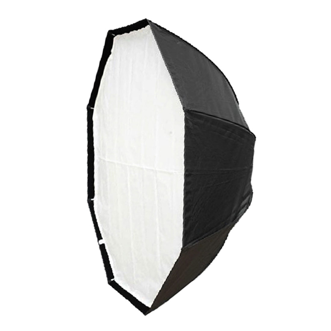 120cm Black Silver Tone Umbrella Studio Flash Light Soft Box Diffuser Reflector