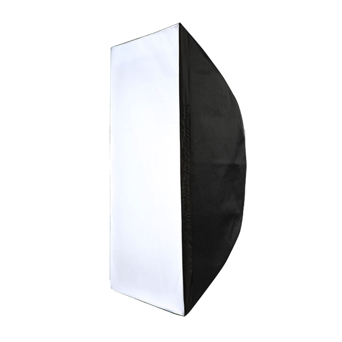 60cmx90cm Black Silver Tone Umbrella Studio Flash Light Soft Box Diffuser Reflector
