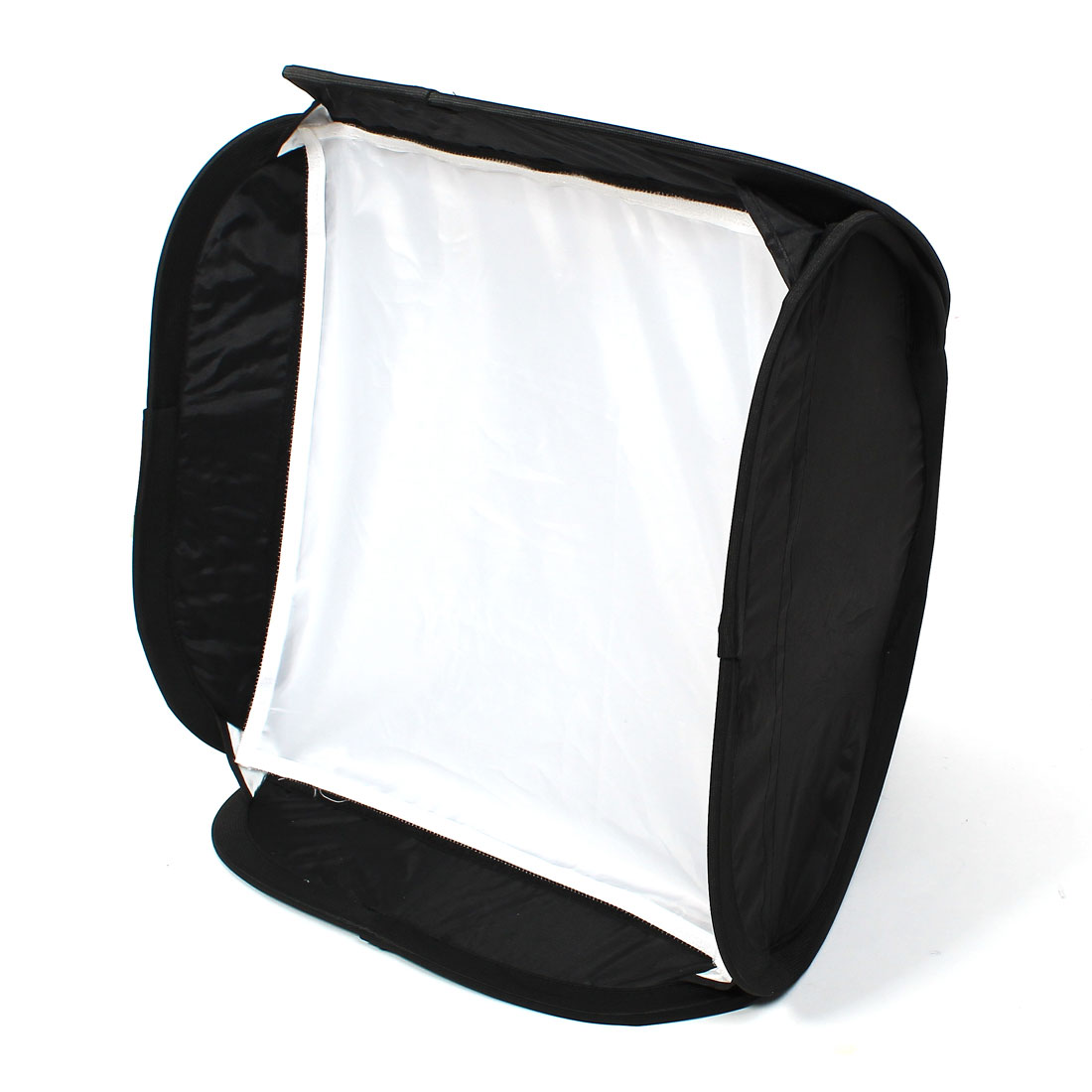 Black/Silver 50x50cm Umbrella Reflective Square Softbox for Flash Light