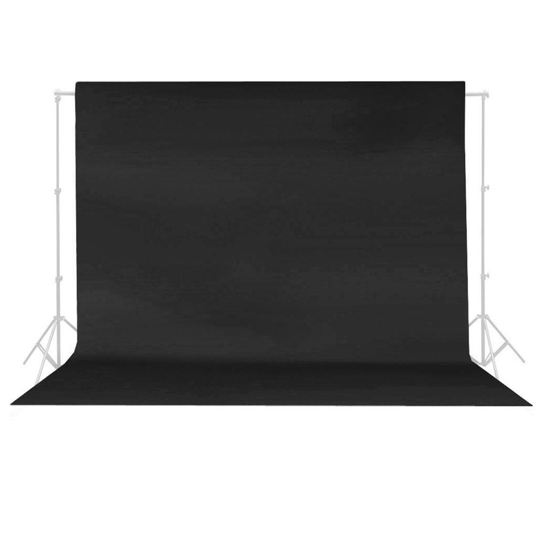 10Ftx10Ft Black Non-woven Fabric Photography Backdrop Background Cloth