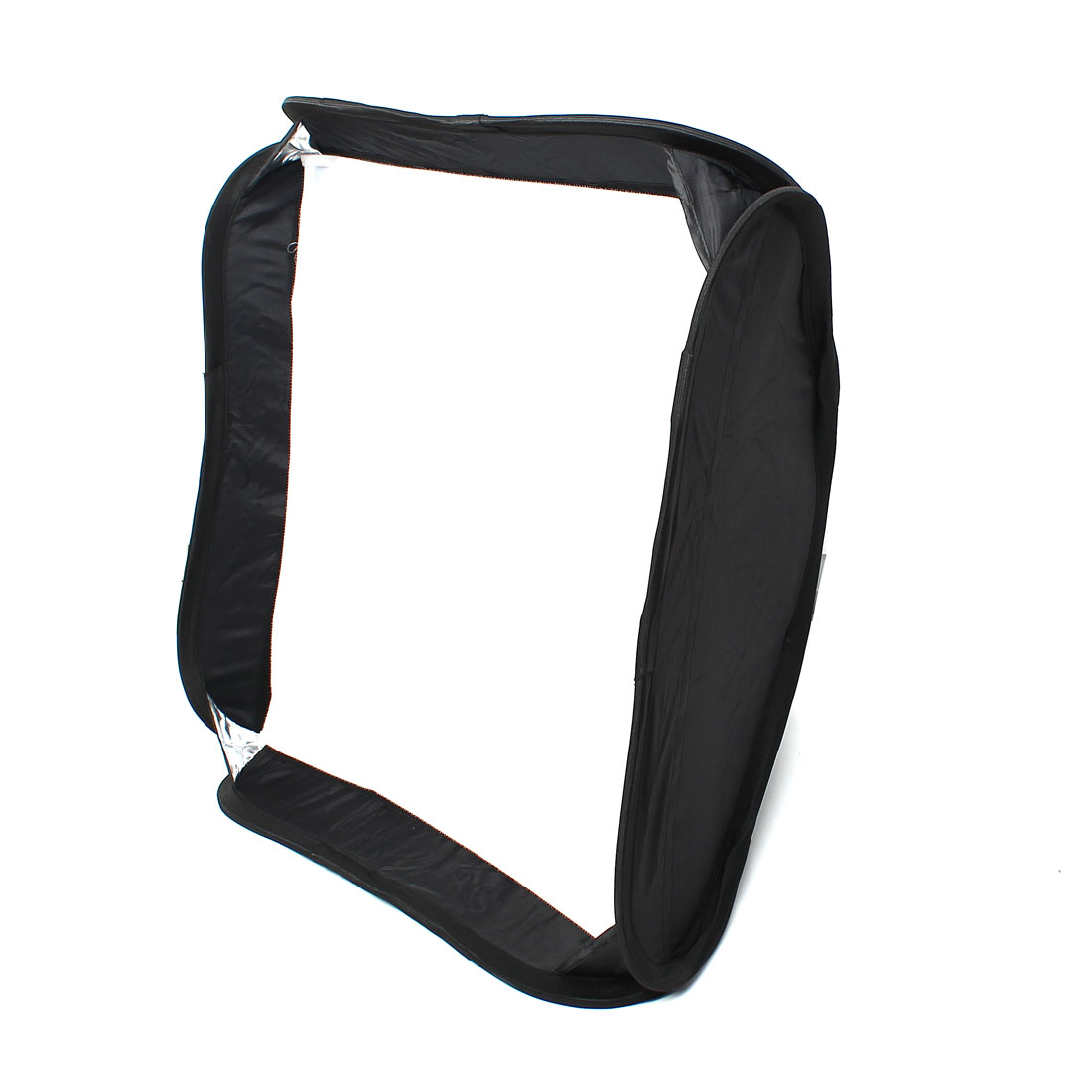 Black/Silver 60x60cm Umbrella Reflective Square Softbox for Flash Light