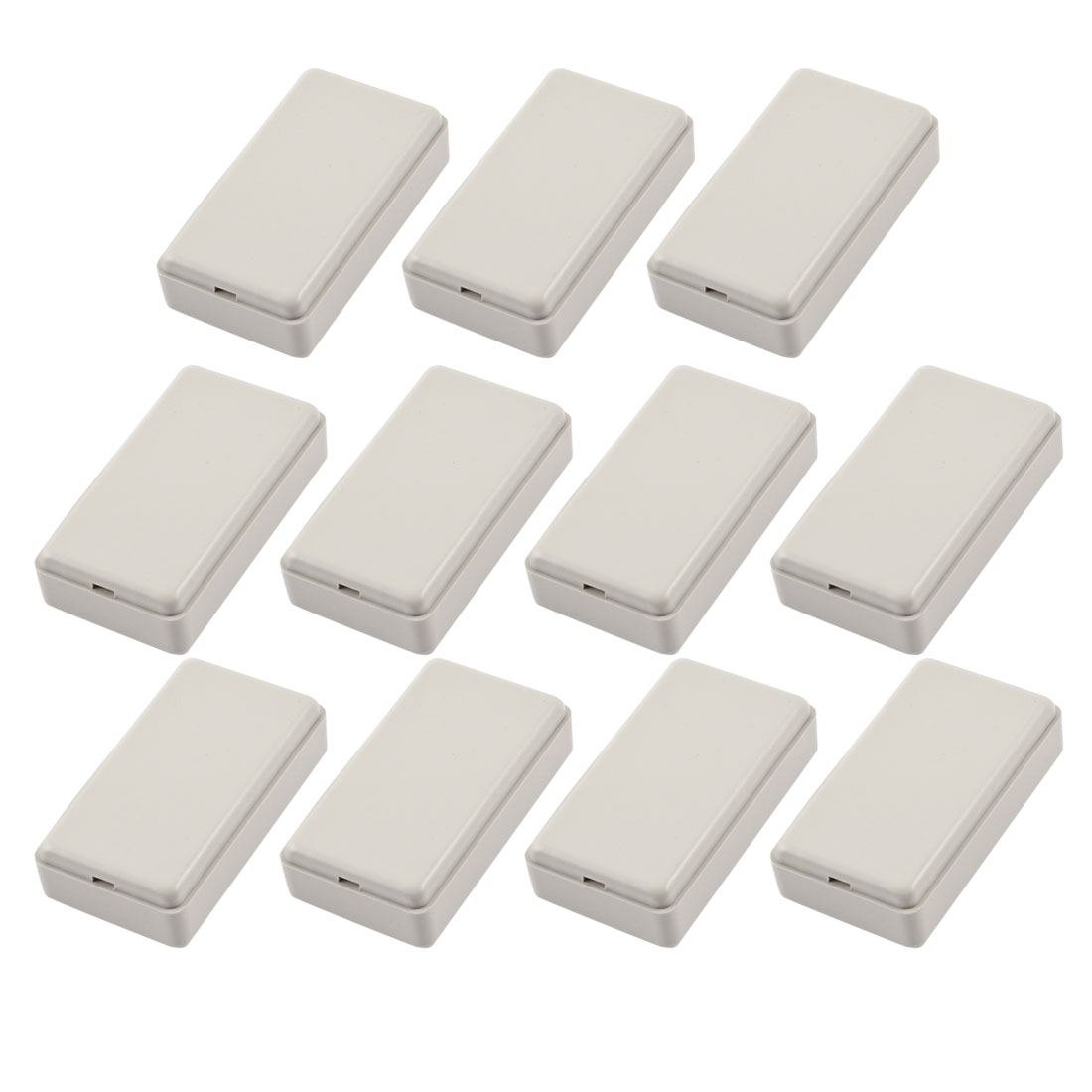 11 Pcs 50mmx27mmx14mm Rectangular Cable Connect Plastic Enclosure Junction Box