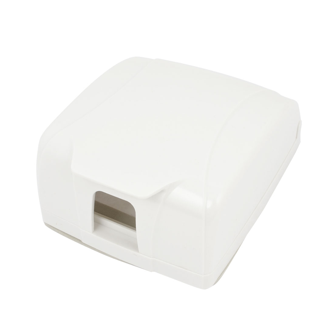 White Plastic Wall Panel Switch Socket Splash Proof Box Cover