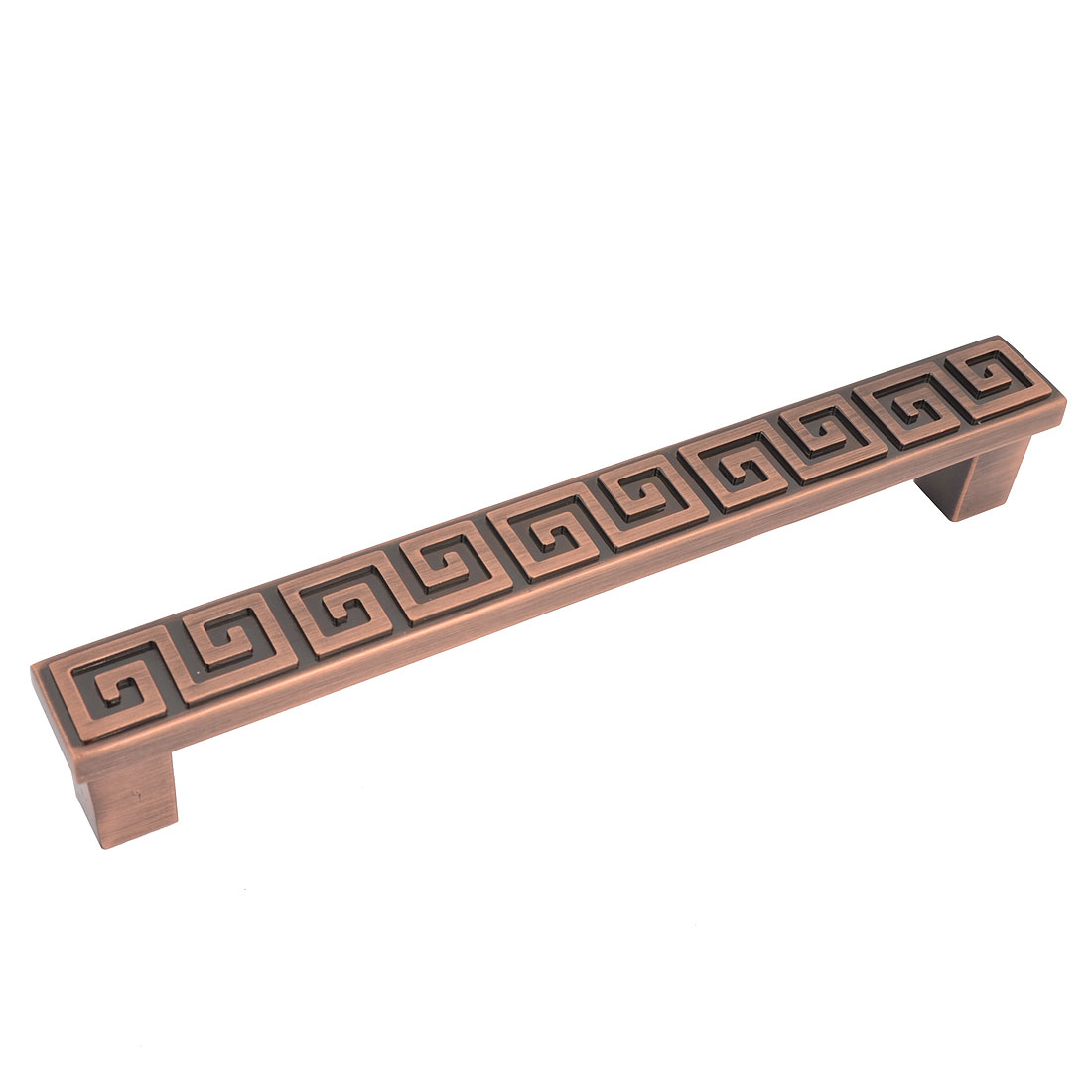 Retro Style Copper Tone Metal Cabinet Drawer Door Pull Handle 5.4""