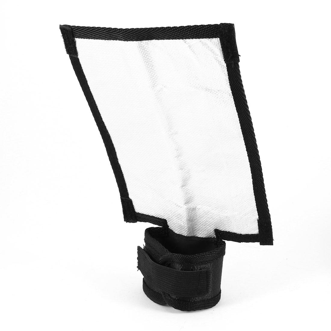 Portable 17cmx11.5cm Rectangle Flash Light Diffuser Softbox for DSLR SLR Camera
