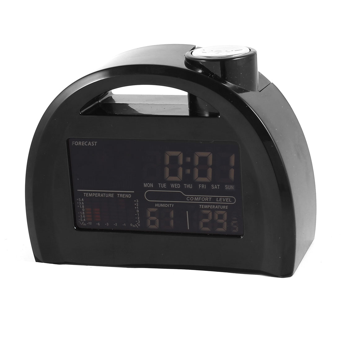 Multifunction Digital LCD Projection Clock Alarm Calendar Weather Forecast Station