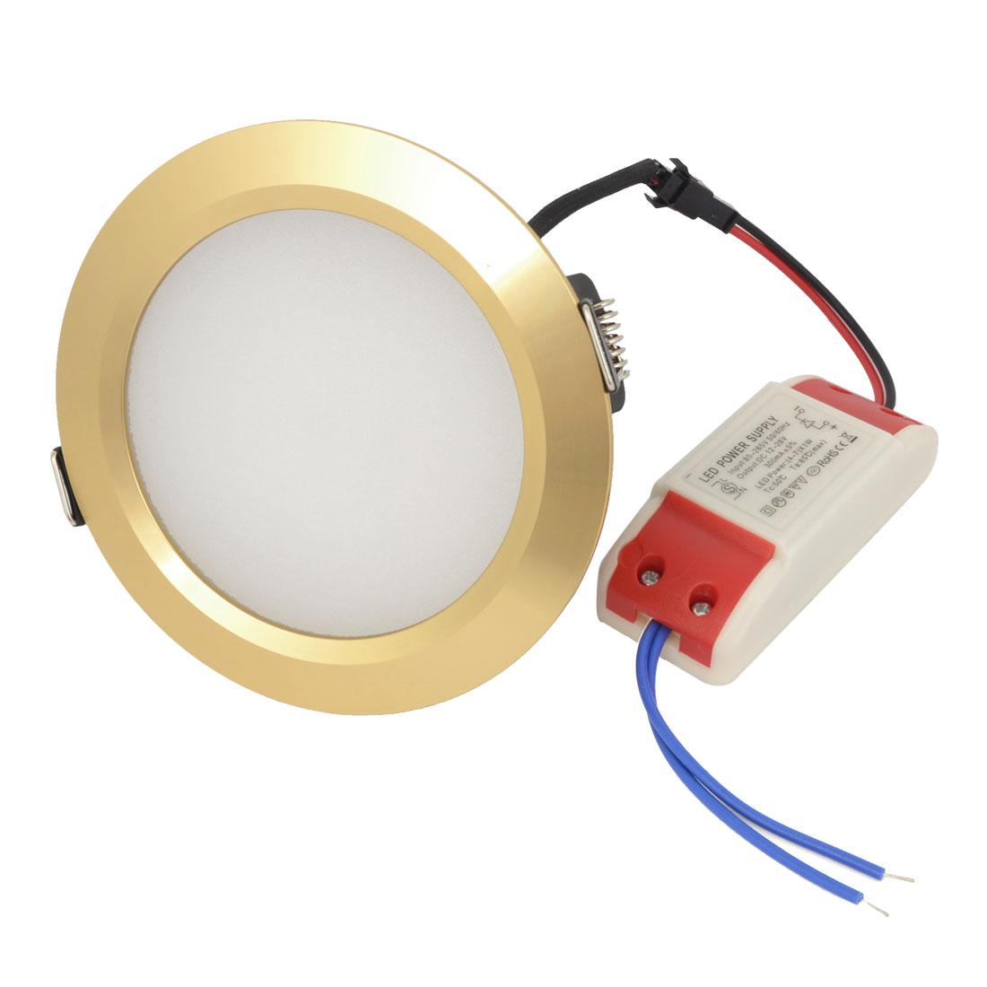 White 7W 14 LEDs Energy Saving Ceiling Down Light AC 85-265V 300mA