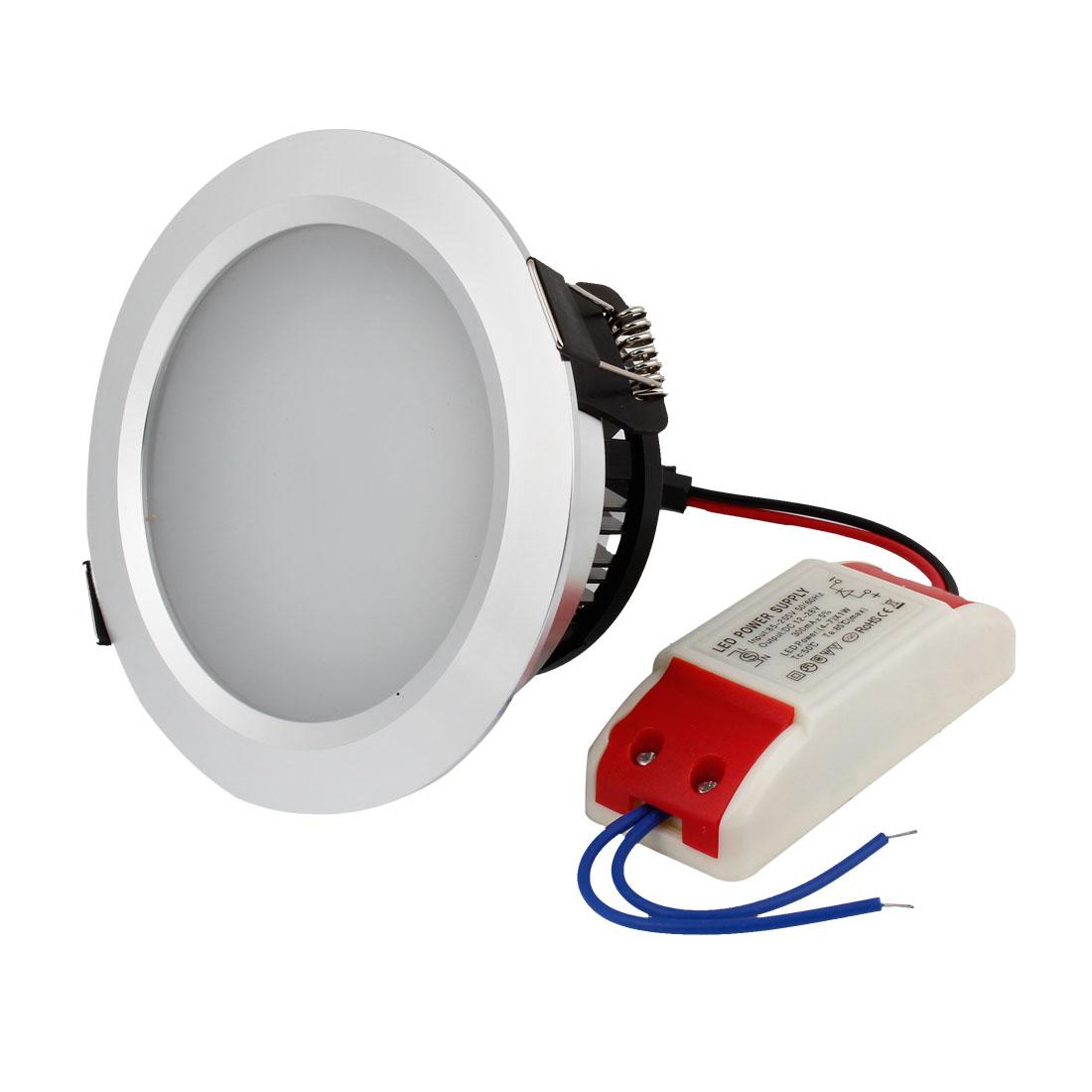 AC 85-265V 7W 6000-6500K 14 SMD LEDs White LED Light Downlight Lamp