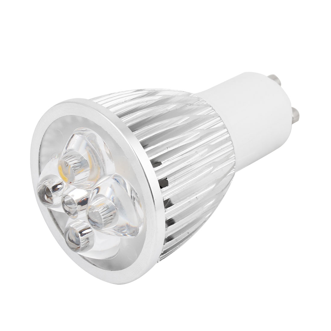 GU10 5 LEDs Warm White LED Spotlight Light Lamp Bulb AC 85-265V 5 Watt