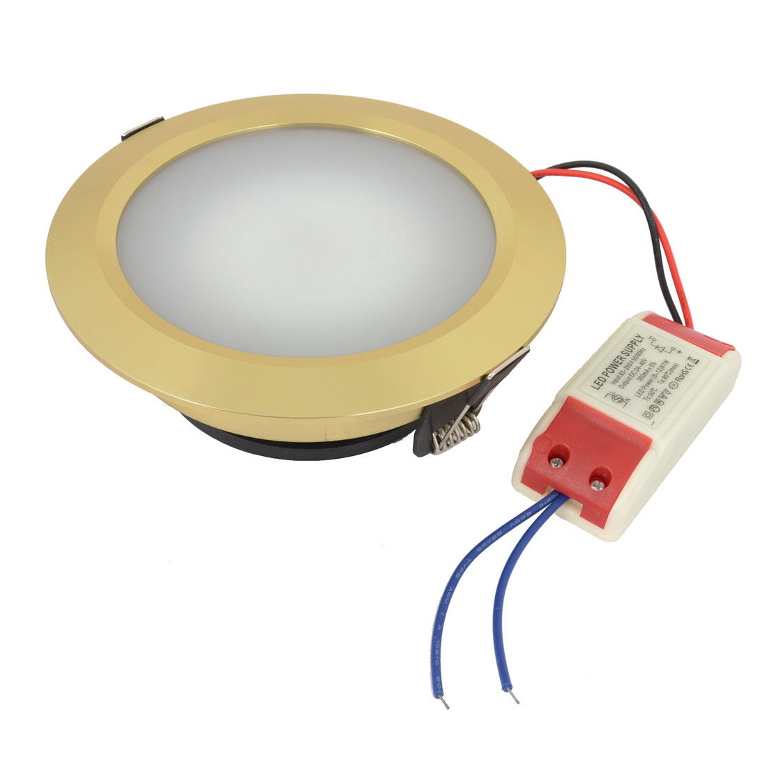 Home Office Round White 12W 24 LEDs Ceiling Down Light Lamp AC 85-265V