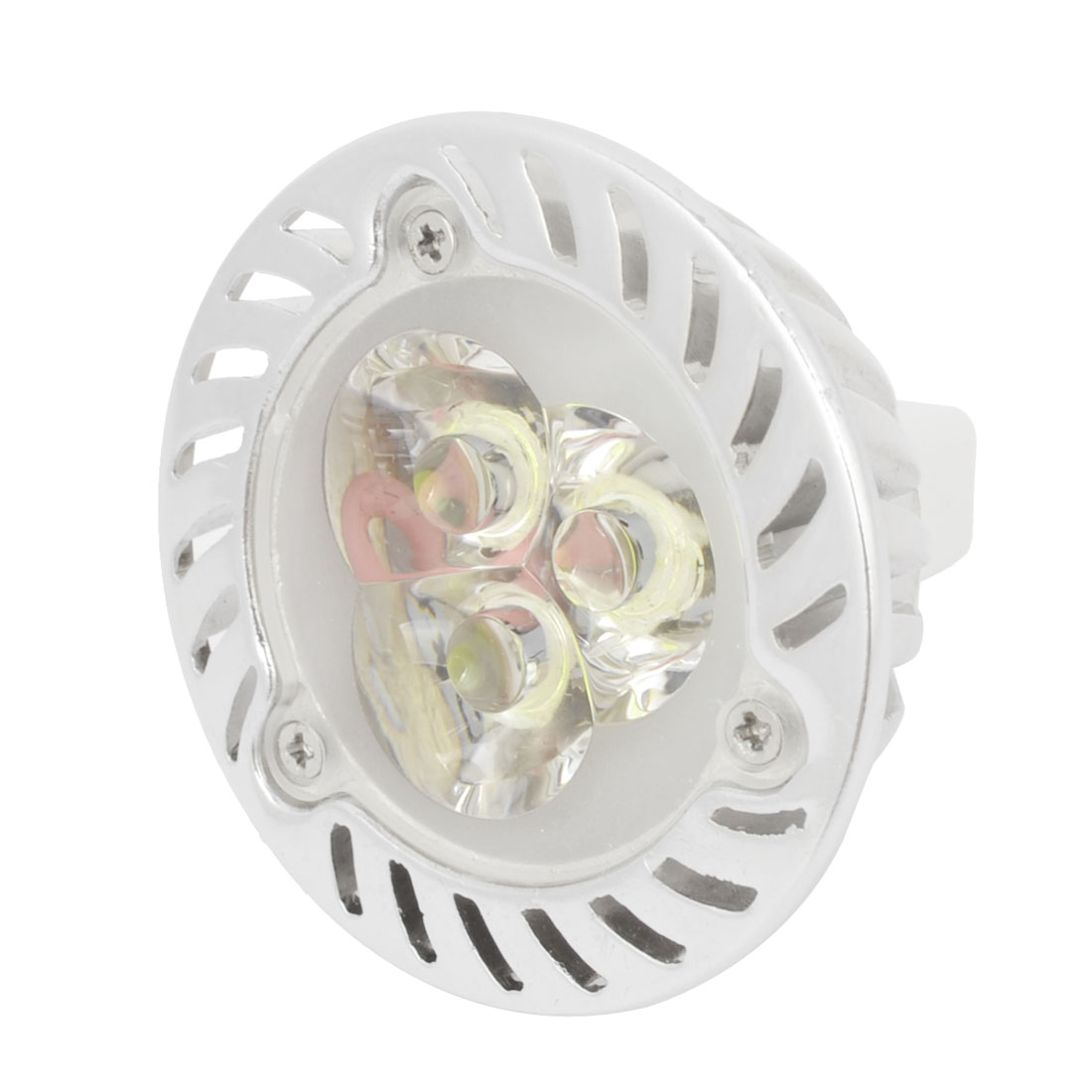 Pure White 3W 3 LEDs Ceiling Down Light Spotlight Bulb AC 85-265V