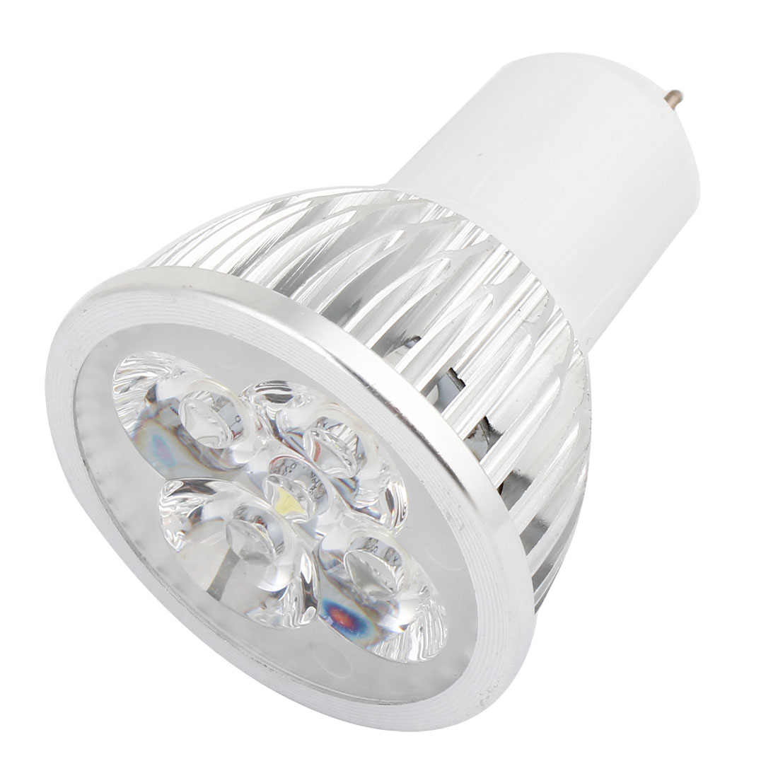 AC 85-265V 4W MR16 High Power White LED Spotlight Light Lamp Bulb