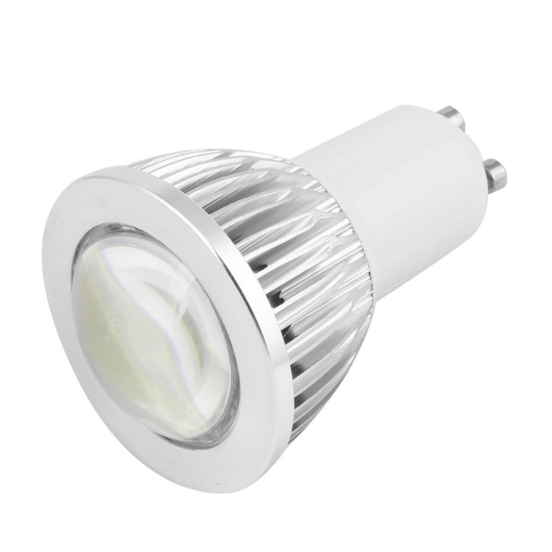 AC 85-265V GU10 5W Pure White Globe Down Light Spotlight Bulb