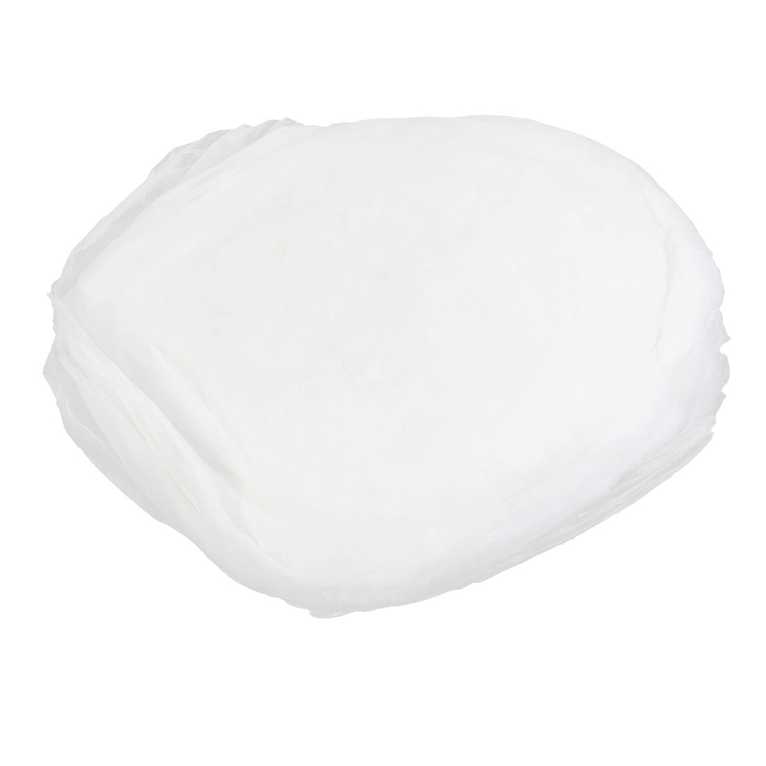 100Pcs White Non-woven Disposable Bouffant Hairdressing Anti Dust Hat Cap
