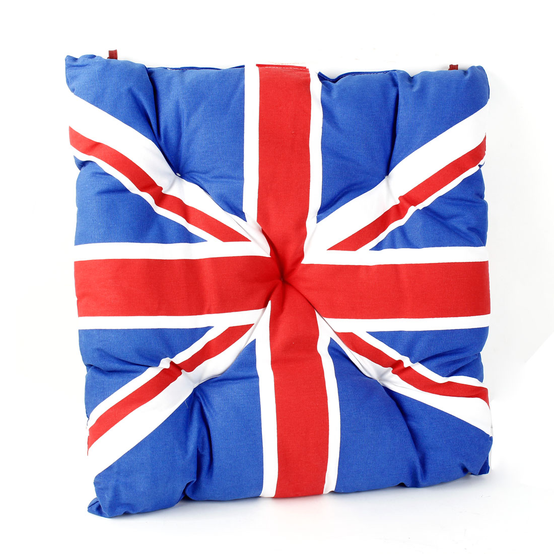 Auto Car Seat Cushion Union Jack Mini Saddles Seat Universal Cover Blue Red White