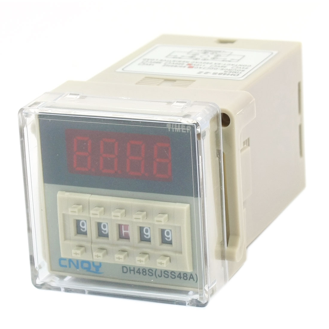 DH48S-2Z AC110V DPDT 0.01s-99M99H 8 Pins Panel Mount Programmable Adjustable Time Delay Delay Timer Relay