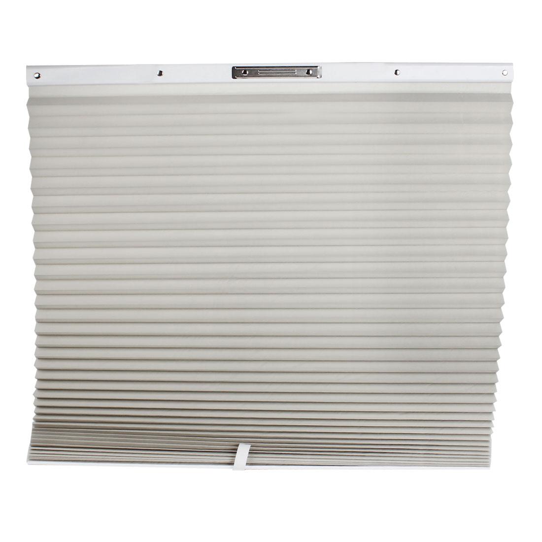 Car Front Rear Window Folding Sun Shade Sunshade Silver Tone 150 x 70cm