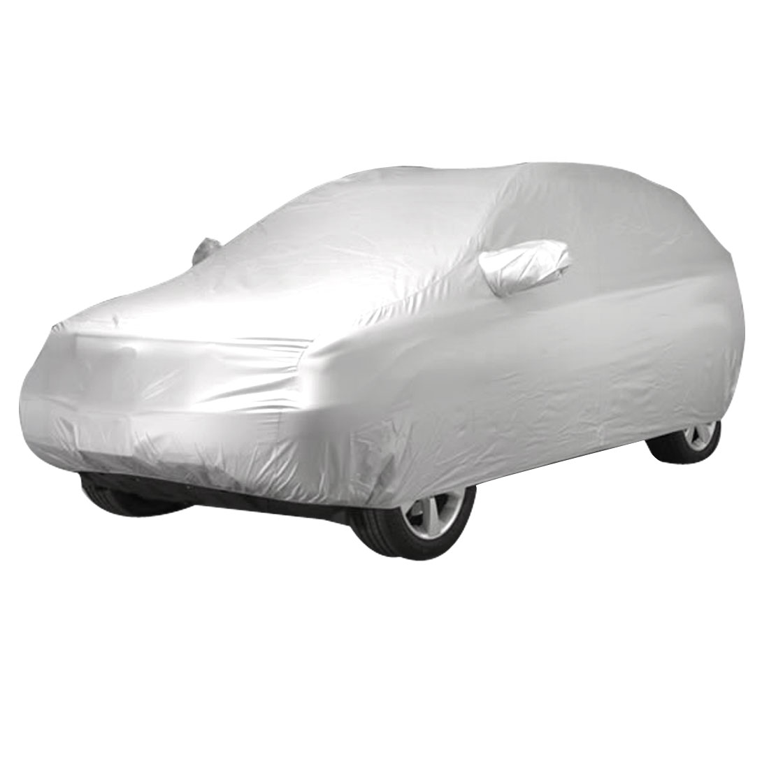 Car Outdoor Waterproof Sun UV Anti Dust Rain All Weather Protective Cover Size XL 5200*2000*1950 (L*W*H)