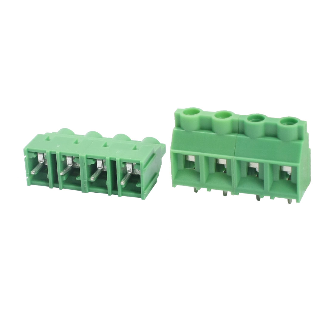 2Pcs KF950 300V 30A 9.5mm Pitch 4-Pin Plug in Straight PCB Mounting Screw Terminal Block Connector