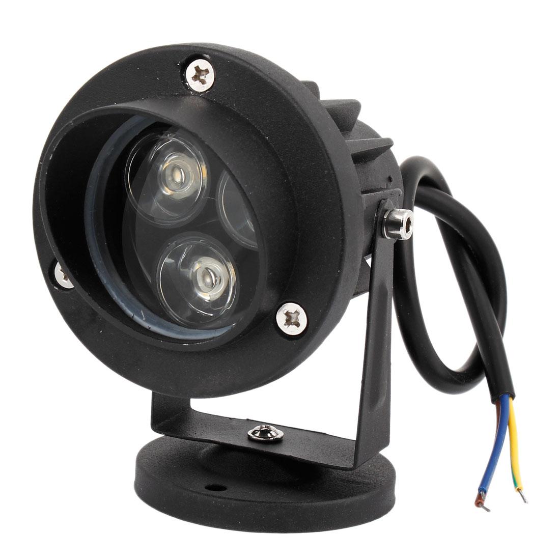 Black Aluminum 6W High Power Warm White LED Ceiling Light Downlight Spotlight 300-330LM AC85-265V