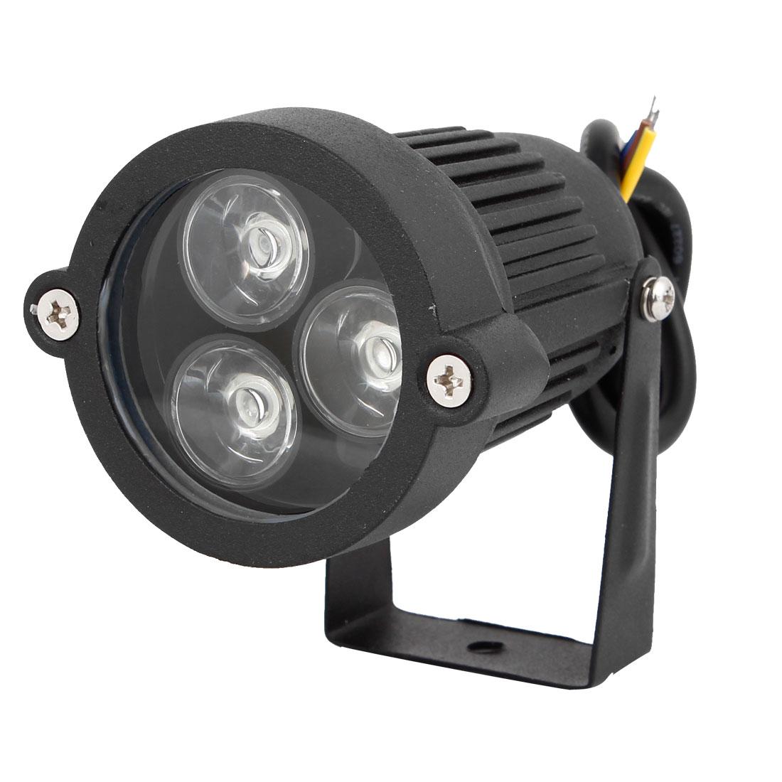 AC85-265V 6W 300-330LM Blue LED Light Landscape Garden Spotlight Lamp