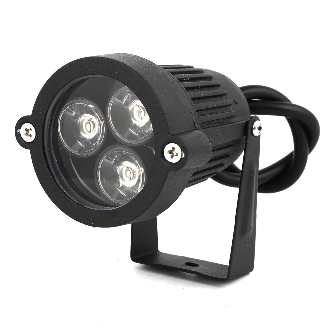 AC85-265V 6W 300-330LM White LED Light Lawn Garden Spotlight Lamp