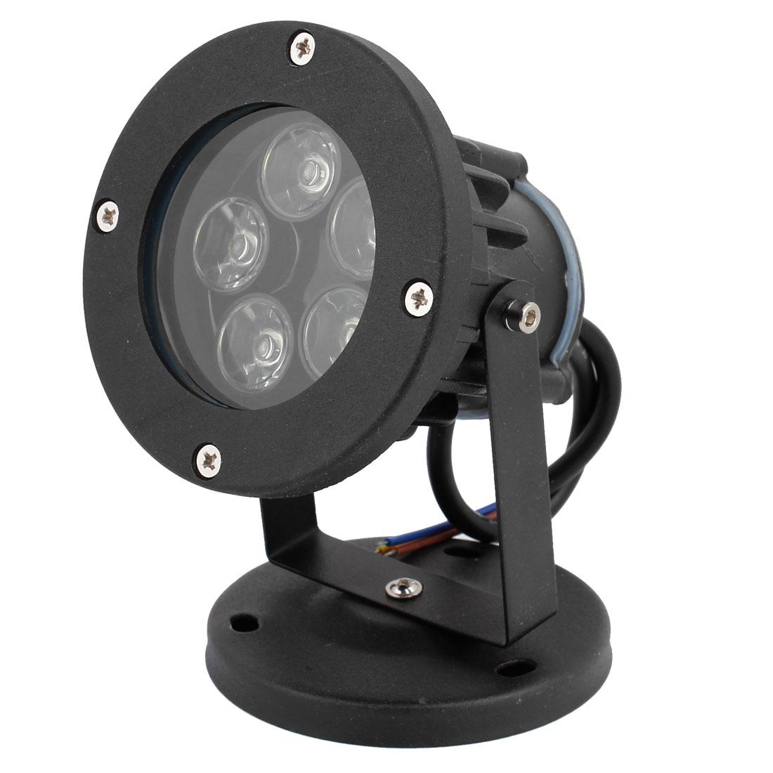 AC 85-265V 10W 500-550lm 5 LEDs White Light Path Garden Spotlight Bulb