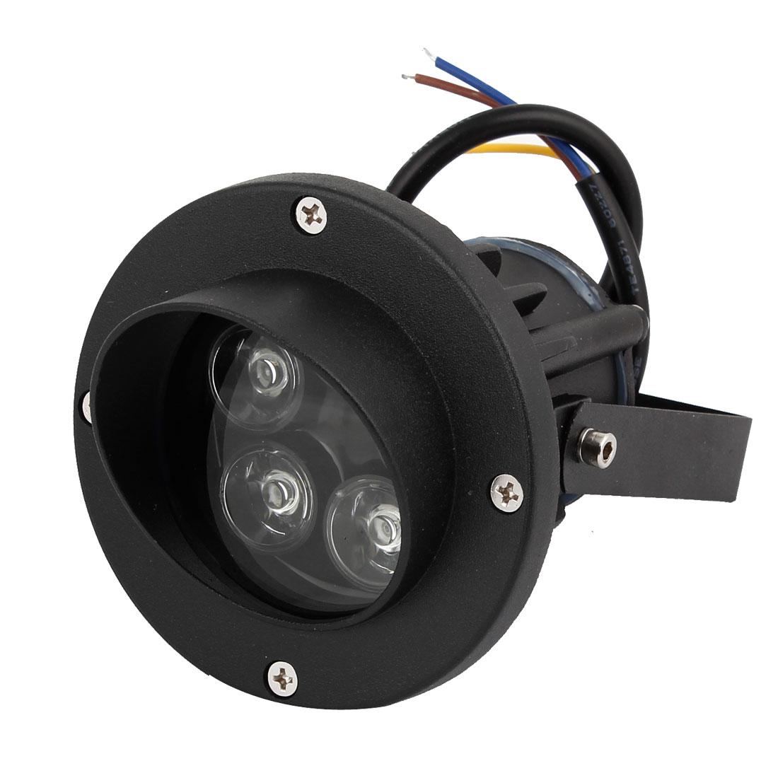 AC85-265V 5W Blue LED Light Wall Outdoor Yard Path Garden Spotlight Lamp