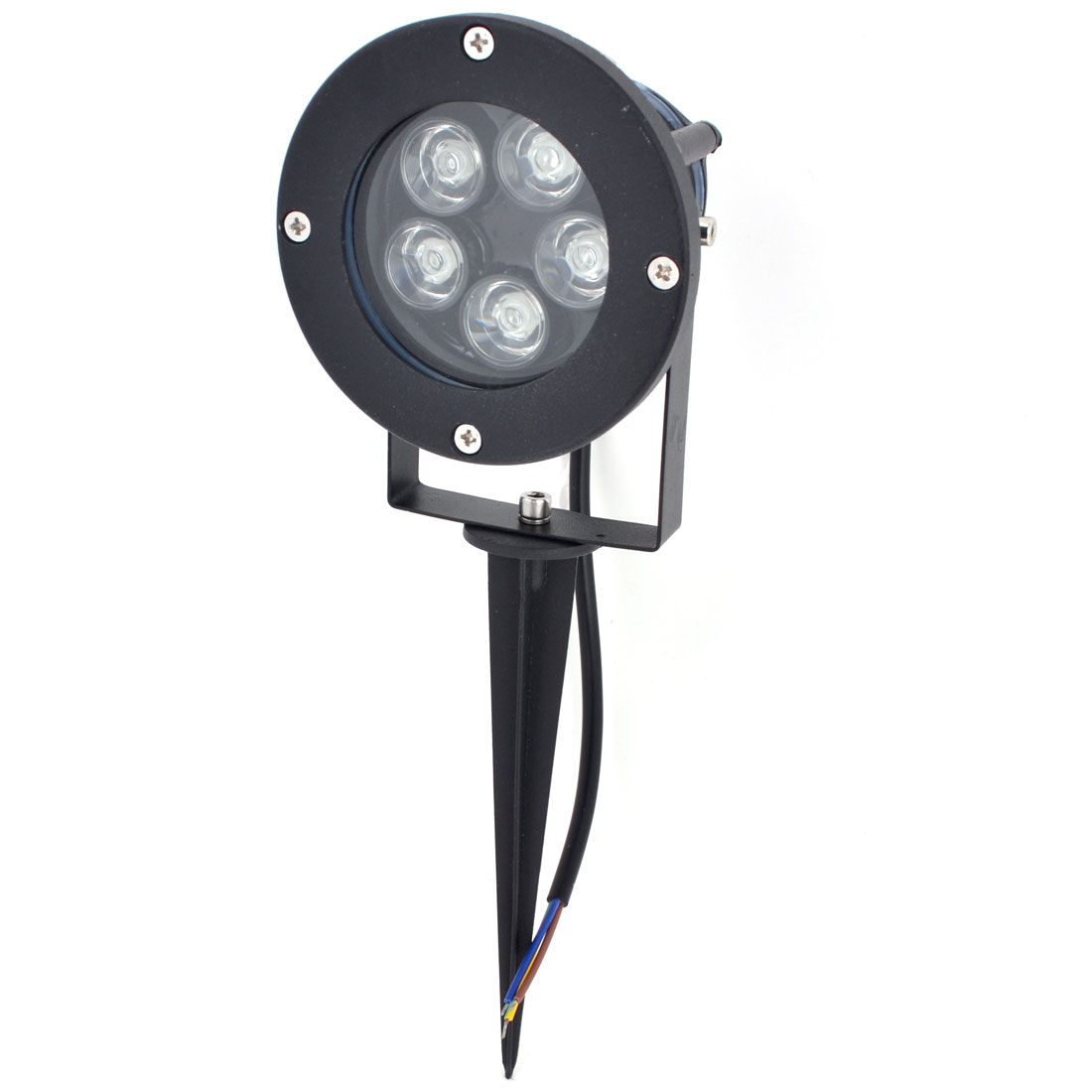 AC85-265V 10W 5-LEDs 500-550LM Green LED Light Garden Spotlight Lamp