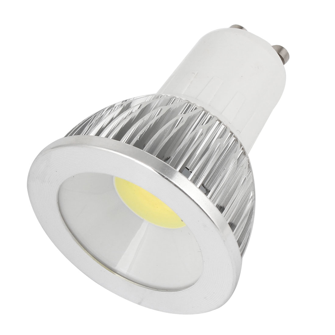 AC 85-265V 6W 360-390LM GU10 Non-dimmable Cool White Light COB LED Downlight Lamp