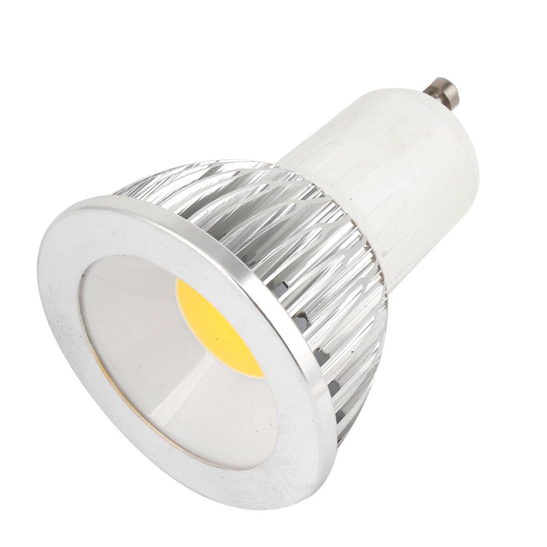 AC 85-265V 6W 360-390LM GU10 Dimmable Warm White Light COB LED Downlight Lamp