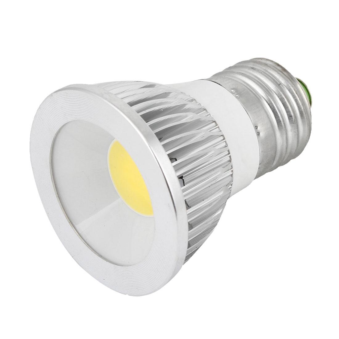 AC 85-265V 6W E27 Dimmable White Light COB LED Downlight Spotlight Bulb
