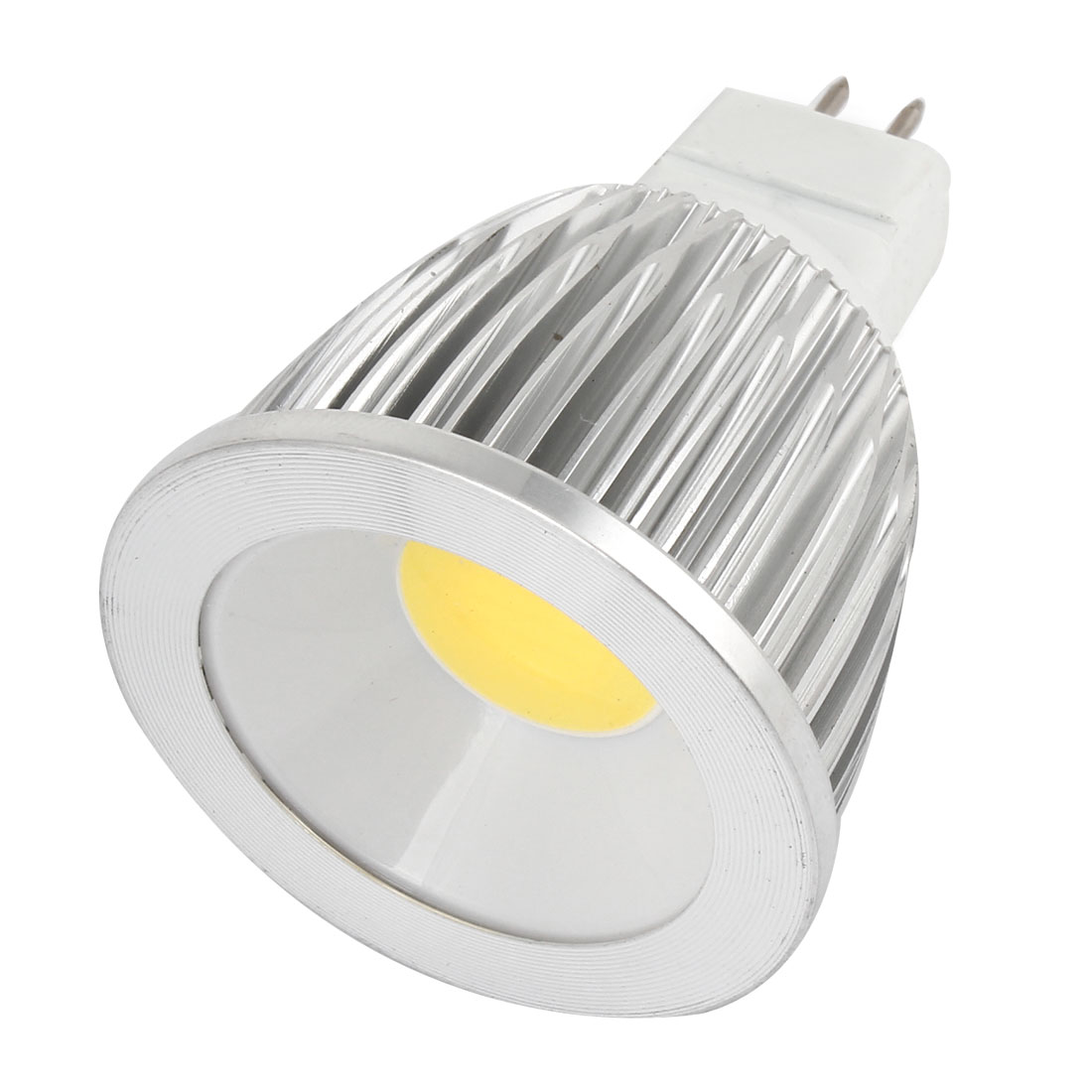 AC 12V 9W MR16 Metal Shell Non-dimmable White Light COB LED Downlight Spotlight