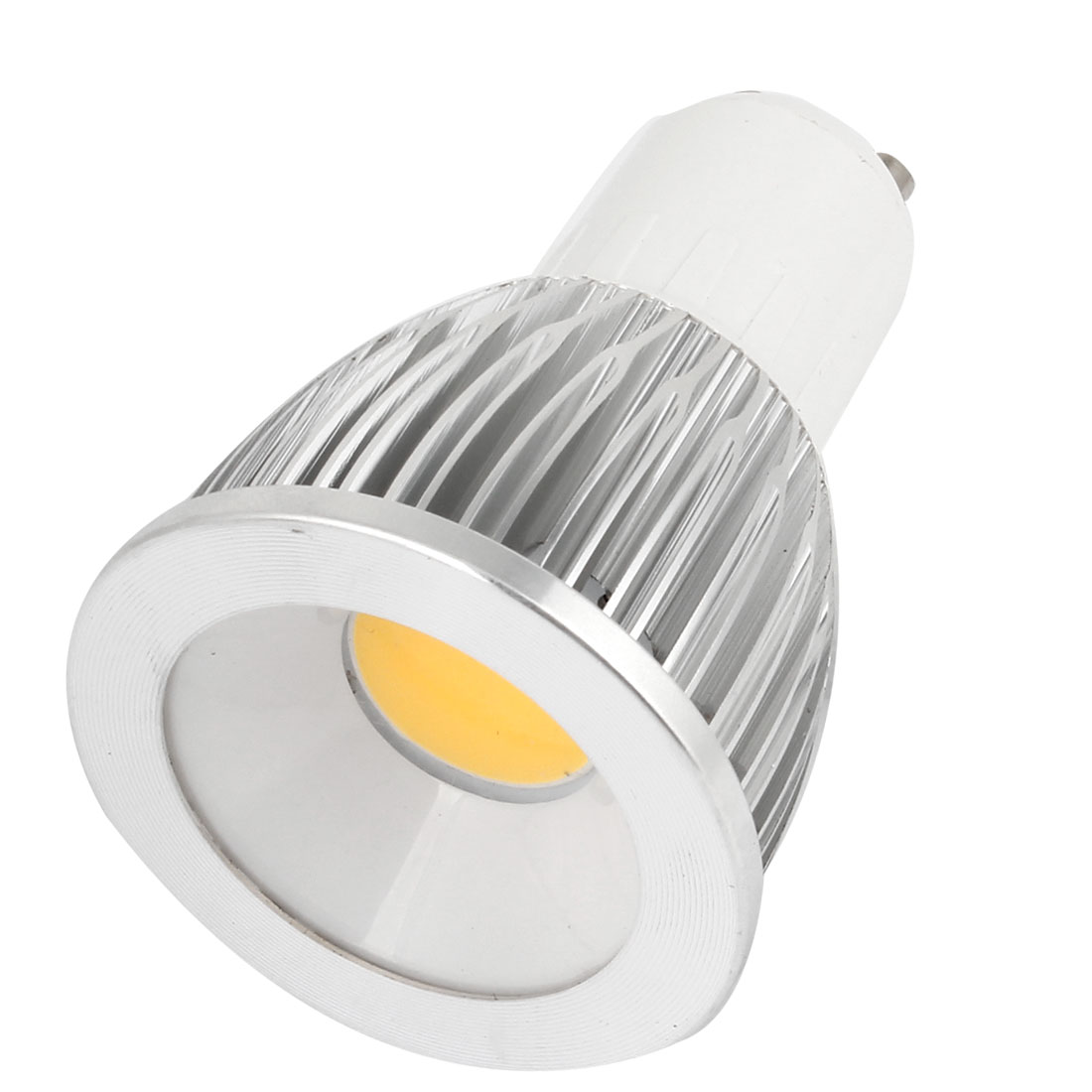 AC 85-265V 9W 600-650LM GU10 Non-dimmable Warm White Light COB LED Downlight Lamp