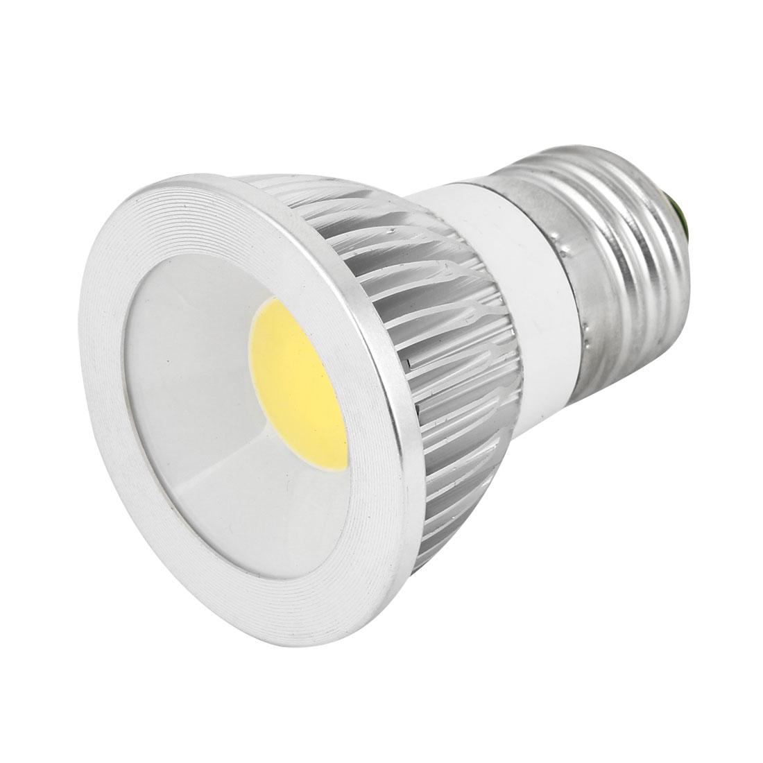 AC 85-265V 6W E27 Non-dimmable White Light COB LED Downlight Spotlight