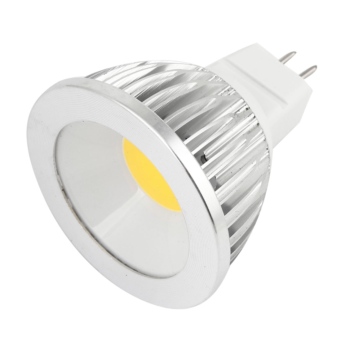 AC 12V 6W MR16 Non-dimmable Warm White Light COB LED Downlight Spotlight