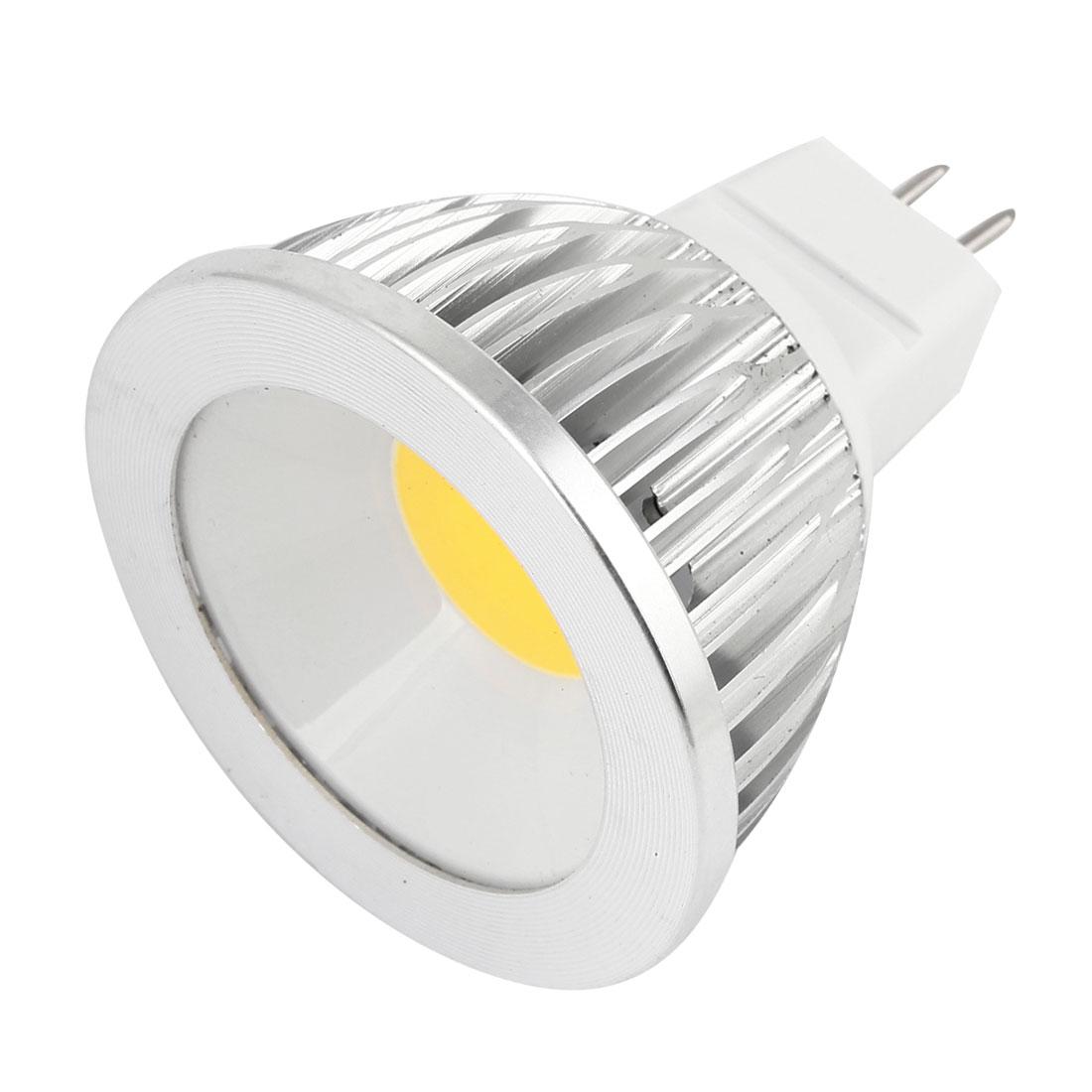 AC 12V 6W MR16 Non-dimmable Warm White Light COB LED Downlight Spotlight